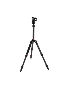Rollei Compact Traveler No. 1 Carbon tripod Digital/film cameras 3 leg(s) Black Rollei 22578 - 1