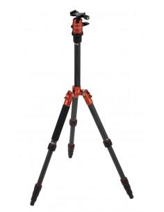 Rollei Compact Traveler No. 1 Carbon tripod Digital/film cameras 3 leg(s) Black,Orange Rollei 22579 - 1