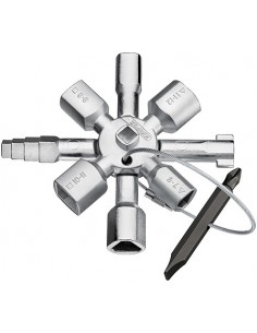Knipex 00 11 01 yleis- & ohjauskaapin avain Knipex 00 11 01 - 1