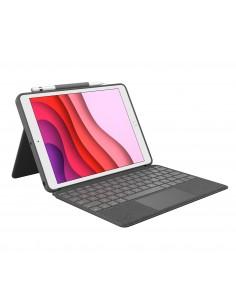 Logitech Combo Touch mobile device keyboard QWERTZ German Graphite Smart Connector Logitech 920-009624 - 1