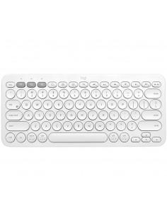 Logitech K380 keyboard Bluetooth QZERTY US International White Logitech 920-009868 - 1