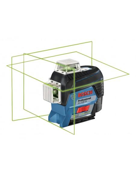 Bosch GLL 3-80 CG Professional Linjelaser 30 m 500-540 nm (< 10mW) Bosch 0601063T00 - 1