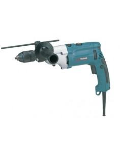 Makita HP2071J borr 2900 RPM utan nyckel 2.5 kg Svart, Blå, Silver Makita HP2071J - 1