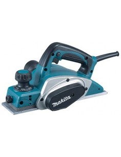 Makita KP0800 elektrisk handhållen hyvel Svart, Blå, Silver 17000 RPM 620 W Makita KP0800 - 1