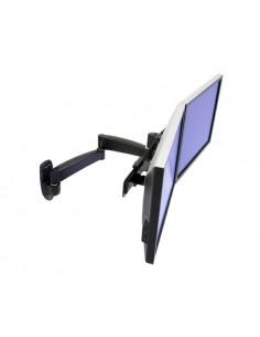 """Ergotron 200 Series Dual Monitor Arm 55.9 cm (22"""") Svart Ergotron 45-231-200 - 1"""