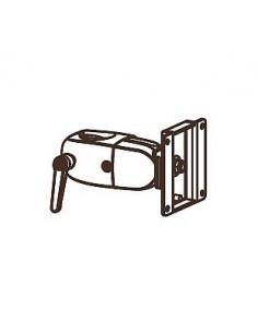 "Ergotron DS Series DS100 Clamping Single Pivot 76.2 cm (30"") Svart Ergotron 47-058-200 - 1"