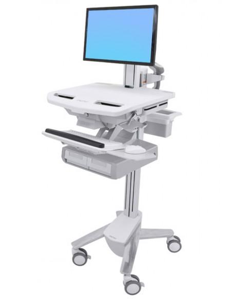 Ergotron StyleView Valkoinen Litteä paneeli Multimediakärry Ergotron SV43-13A0-0 - 1