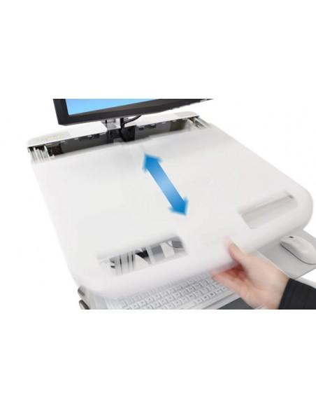 Ergotron StyleView Valkoinen Litteä paneeli Multimediakärry Ergotron SV43-13A0-0 - 2