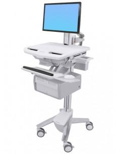 Ergotron StyleView White Flat panel Multimedia cart Ergotron SV43-13C0-0 - 1