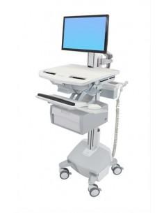 Ergotron StyleView Valkoinen Litteä paneeli Multimediakärry Ergotron SV44-13B2-2 - 1