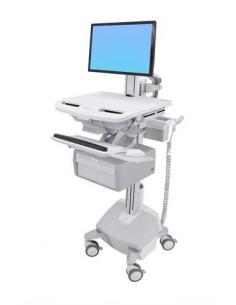 Ergotron StyleView Valkoinen Litteä paneeli Multimediakärry Ergotron SV44-13C2-2 - 1