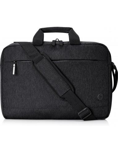 "HP 1X645AA notebook case 39.6 cm (15.6"") Briefcase Black Hp 1X645AA - 1"