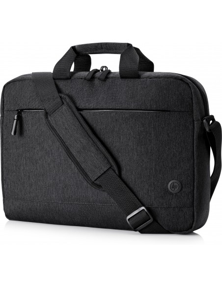 "HP 1X645AA notebook case 39.6 cm (15.6"") Briefcase Black Hp 1X645AA - 2"
