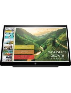 "HP EliteDisplay S14 35.6 cm (14"") 1920 x 1080 pixlar Full HD LED Svart Hp 3HX46AA#AC3 - 1"