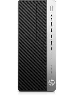 HP EliteDesk 800 G5 i7-9700 Tower 9:e generationens Intel® Core™ i7 32 GB DDR4-SDRAM 512 SSD Windows 10 Pro PC Svart Hp 7PF15EA#