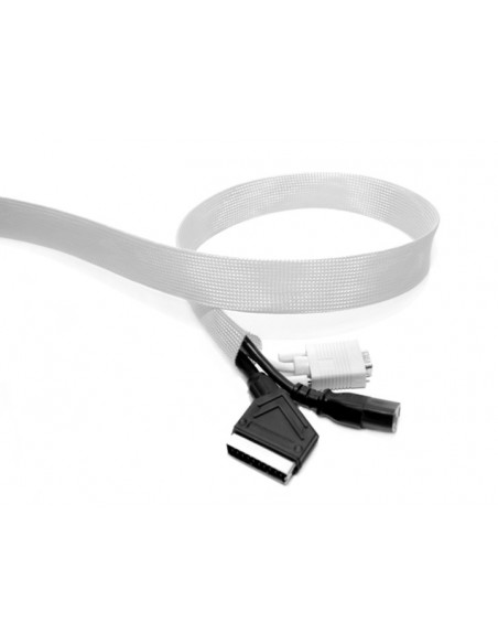 Multibrackets 2506 kabelsamlare Kabelstrumpa Silver 1 styck Multibrackets 7350022732506 - 2