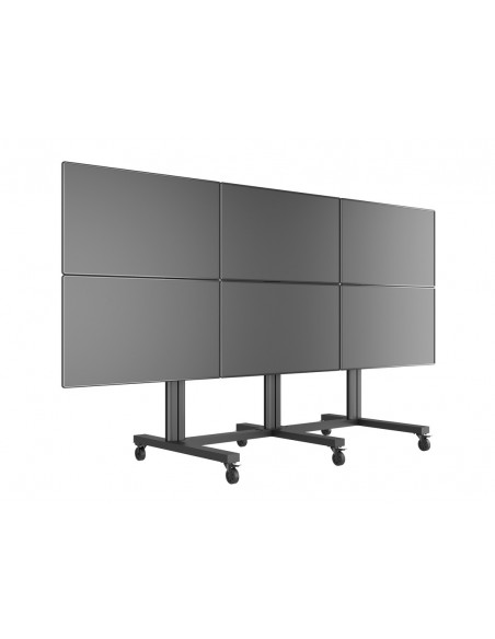 "Multibrackets M Public Video Wall Stand 6-Screens 40-55"" Black Multibrackets 7350022739727 - 7"