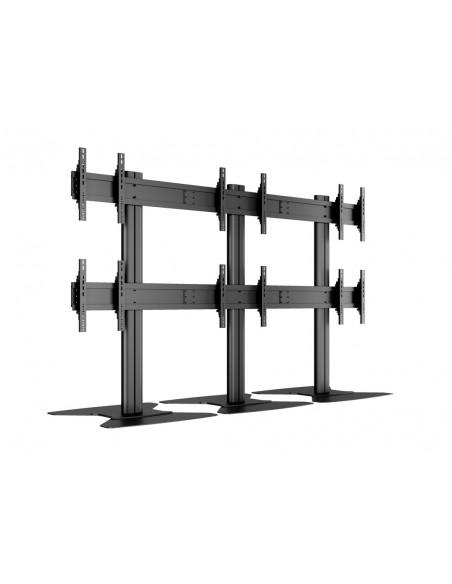 "Multibrackets M Public Video Wall Stand 6-Screens 40-55"" Black Multibrackets 7350022739727 - 13"