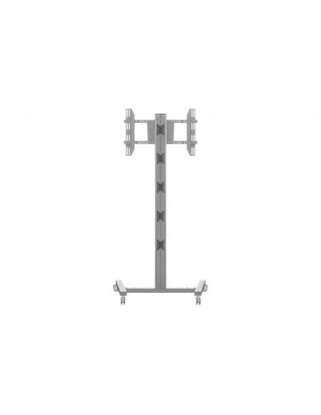 """Multibrackets 0636 kyltin näyttökiinnike 160 cm (63"""") Hopea Multibrackets 7350073730636 - 4"""