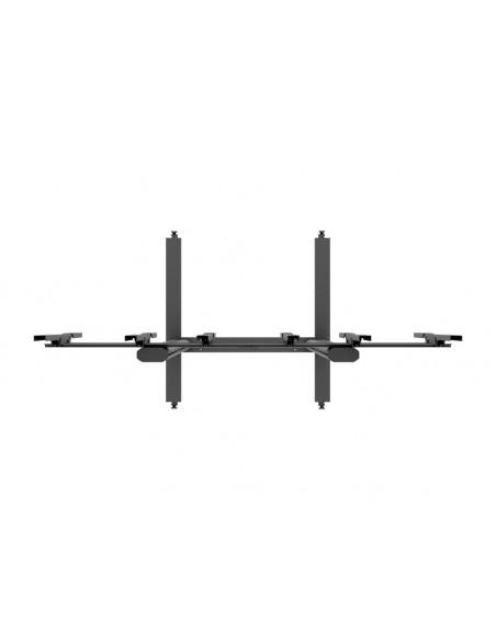 """Multibrackets 1800 fäste för skyltningsskärm 139.7 cm (55"""") Svart Multibrackets 7350073731800 - 6"""