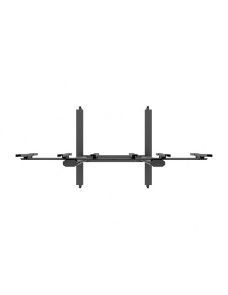 Multibrackets M Public Video Wall Stand Portrait 3-Screens 40-55'' Black Multibrackets 7350073731800 - 6