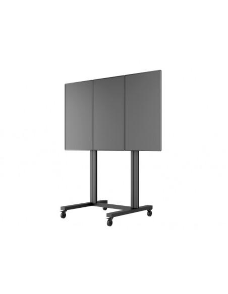 Multibrackets M Public Video Wall Stand Portrait 3-Screens 40-55'' Black Multibrackets 7350073731800 - 9