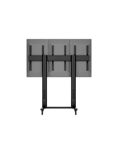 """Multibrackets 1800 fäste för skyltningsskärm 139.7 cm (55"""") Svart Multibrackets 7350073731800 - 10"""