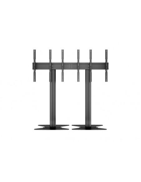 Multibrackets M Public Video Wall Stand Portrait 3-Screens 40-55'' Black Multibrackets 7350073731800 - 14