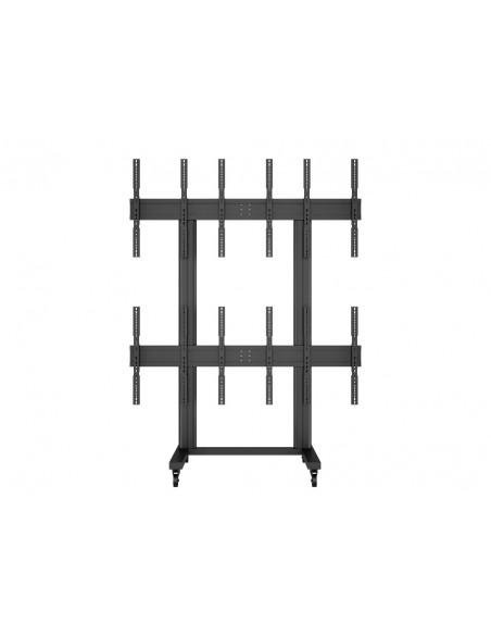 Multibrackets M Public Video Wall Stand Portrait 6-Screens 40-55'' Black Multibrackets 7350073731824 - 2