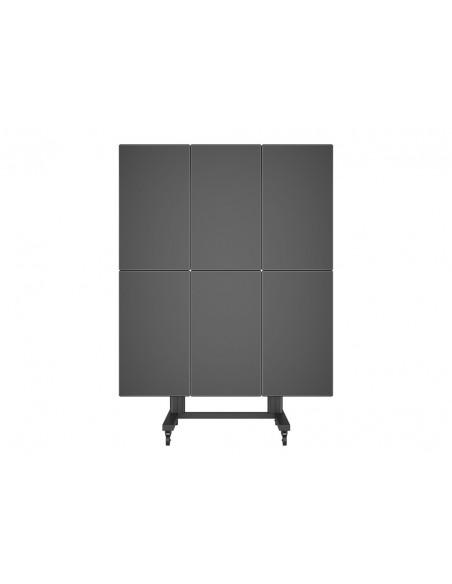 Multibrackets M Public Video Wall Stand Portrait 6-Screens 40-55'' Black Multibrackets 7350073731824 - 8