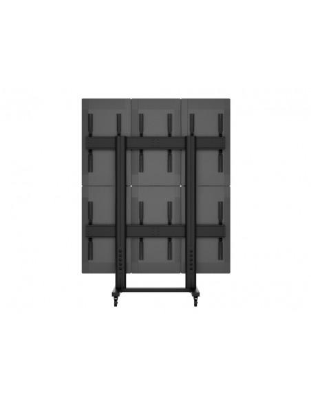 """Multibrackets 1824 kyltin näyttökiinnike 139.7 cm (55"""") Musta Multibrackets 7350073731824 - 10"""