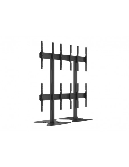 Multibrackets M Public Video Wall Stand Portrait 6-Screens 40-55'' Black Multibrackets 7350073731824 - 13