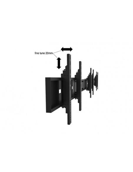 Multibrackets M Public Video Wall Stand Portrait 6-Screens 40-55'' Black Multibrackets 7350073731824 - 18