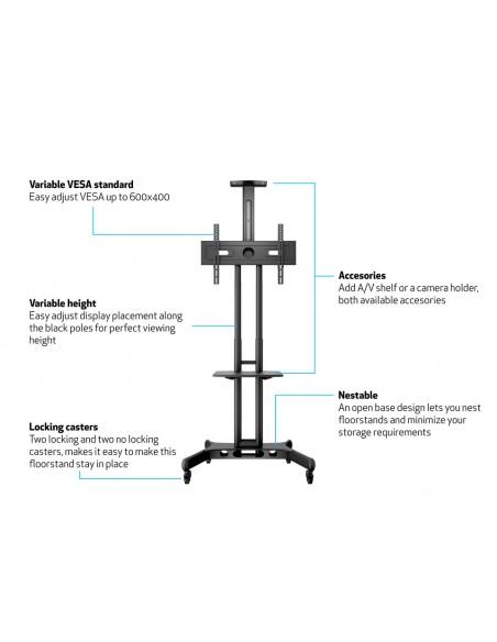 Multibrackets M Public Floorstand Shelf Basic 150 Multibrackets 7350073732326 - 7