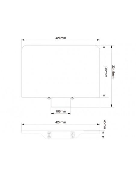 Multibrackets 2388 tillbehör till bildskärmsfäste Multibrackets 7350073732388 - 4
