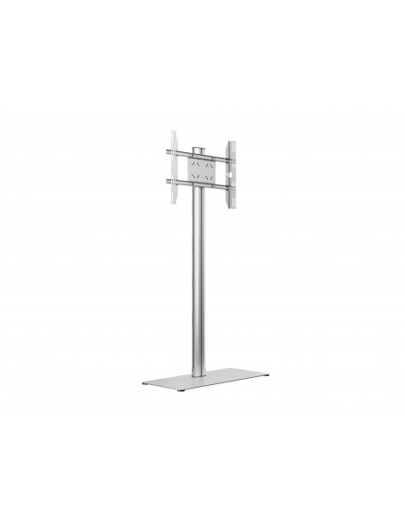Multibrackets M Display Stand 180 Single Silver w. Floorbase Multibrackets 7350073732418 - 1