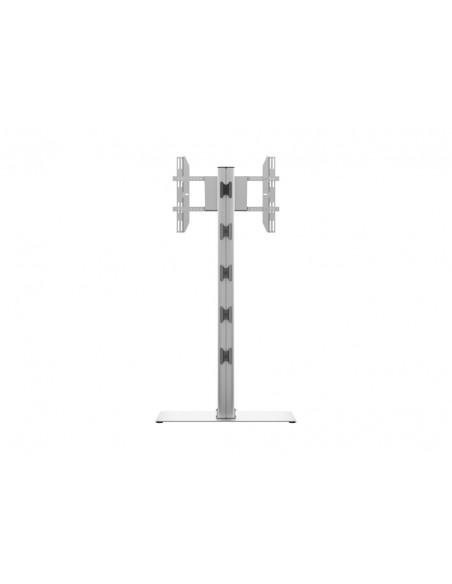 Multibrackets M Display Stand 180 Single Silver w. Floorbase Multibrackets 7350073732418 - 4