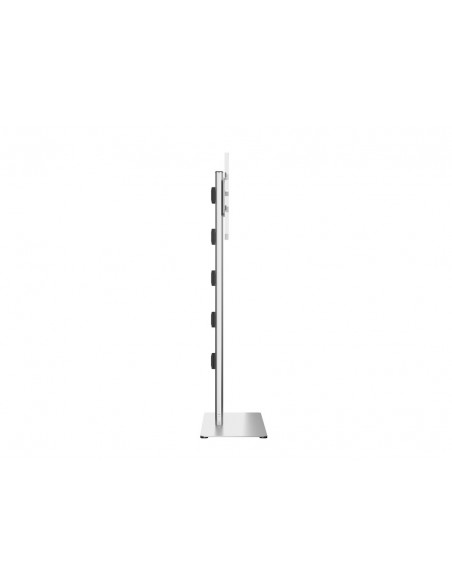 Multibrackets M Display Stand 180 Single Silver w. Floorbase Multibrackets 7350073732418 - 5