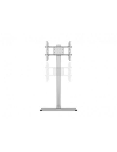 Multibrackets M Display Stand 180 Single Silver w. Floorbase Multibrackets 7350073732418 - 7
