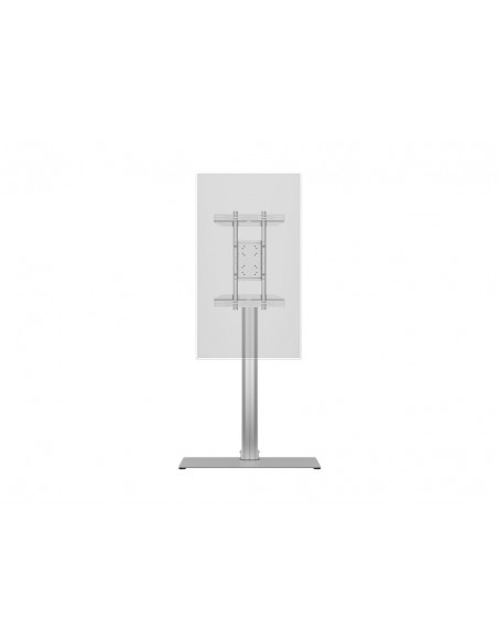 Multibrackets M Display Stand 180 Single Silver w. Floorbase Multibrackets 7350073732418 - 14