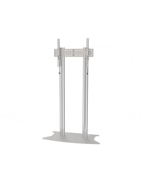 Multibrackets M Public Display Stand 180 Dual Pillar Floorbase Silver Multibrackets 7350073732555 - 2