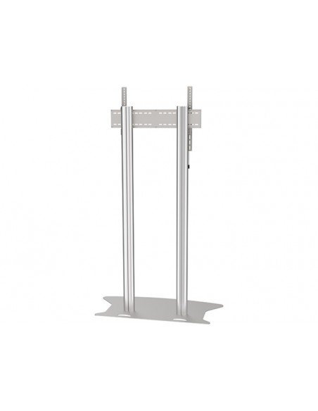 Multibrackets M Public Display Stand 180 Dual Pillar Floorbase Silver Multibrackets 7350073732555 - 3