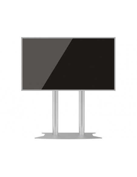 Multibrackets M Public Display Stand 180 Dual Pillar Floorbase Silver Multibrackets 7350073732555 - 6