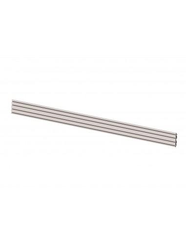 Multibrackets M Pro Series - Triple Screen Rail 348cm Silver Multibrackets 7350073733729 - 1