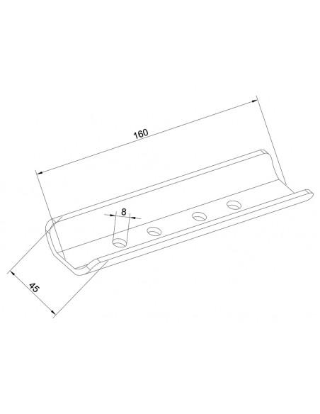 Multibrackets M Pro Series - Internal Pole Joiner Multibrackets 7350073734191 - 3