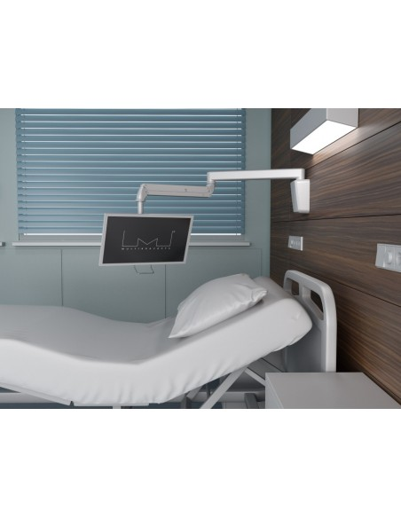 """Multibrackets 4276 monitorin kiinnike ja jalusta 68.6 cm (27"""") Valkoinen Multibrackets 7350073734276 - 6"""