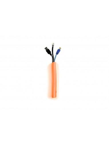 Multibrackets M Universal Cable Sock Self Wrapping 19mm Orange 25m Multibrackets 7350073734474 - 1