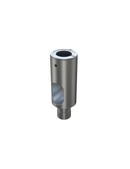 Multibrackets M Extension Pipe 10cm for VESA Gas Lift Arm Single Silver Multibrackets 7350073735402 - 3