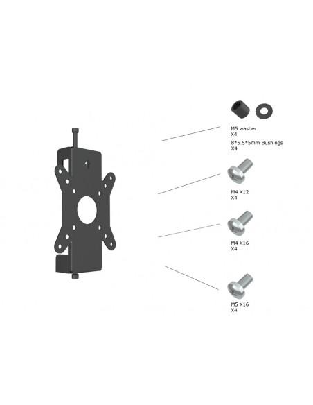 Multibrackets 6300 tillbehör till bildskärmsfäste Multibrackets 7350073736300 - 4
