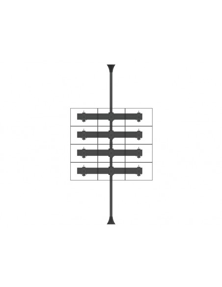 Multibrackets 6300 tillbehör till bildskärmsfäste Multibrackets 7350073736300 - 6